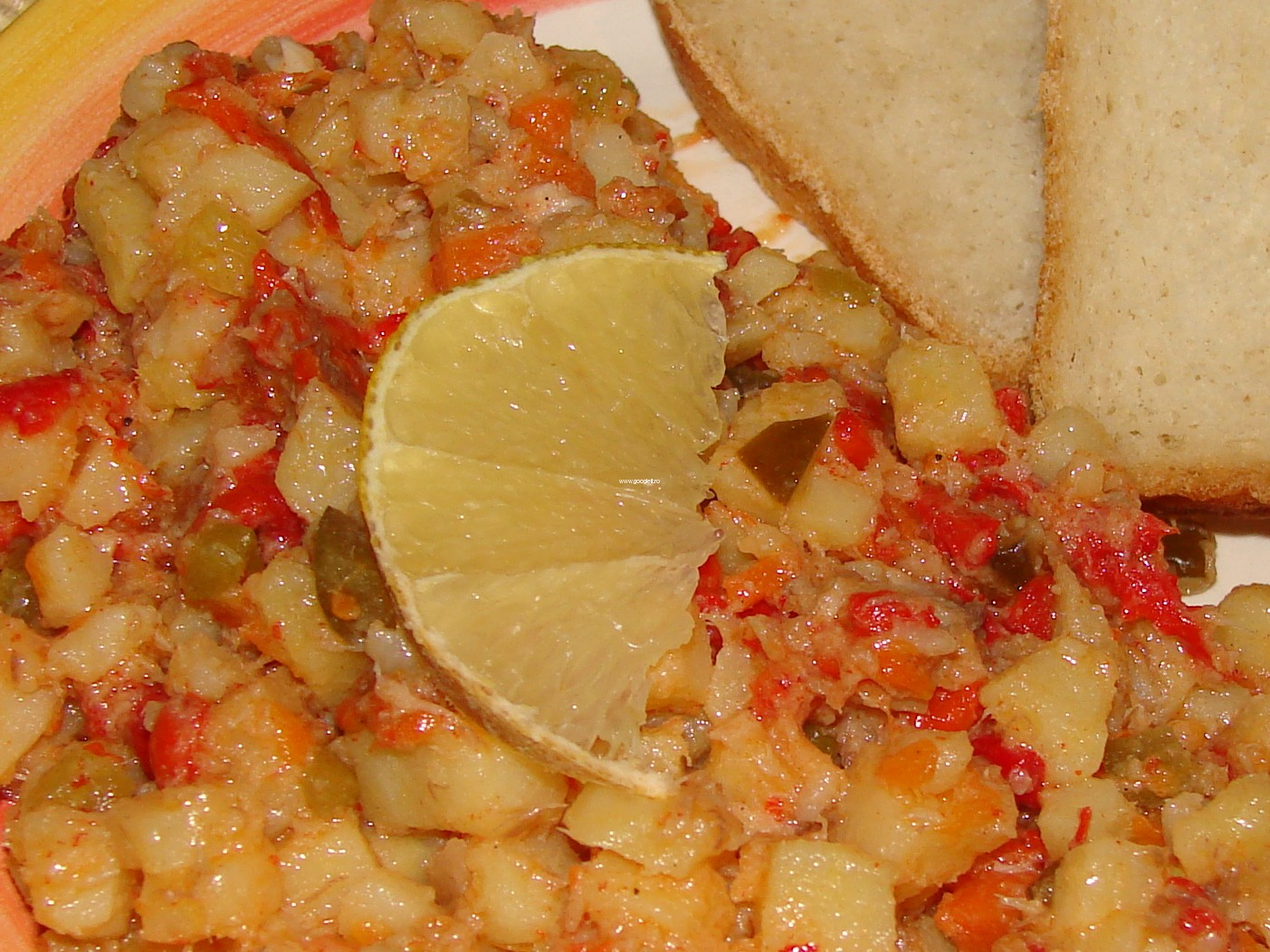 salata de cartofi si peste - prezentare 1