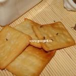 Crackers cu sare si chimen