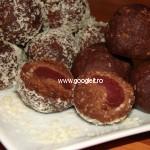 Bilute de post cu biscuiti si Cirese (Visine)